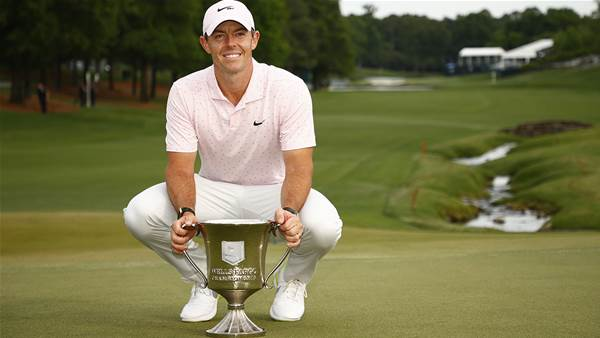 Rory ends two-year PGA Tour win drought