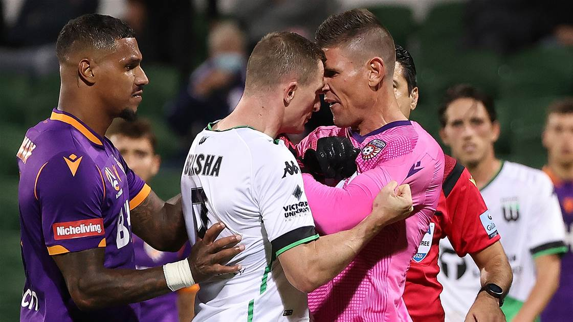 'Sometimes it gets fiery' - Tempers flare as Glory beat United