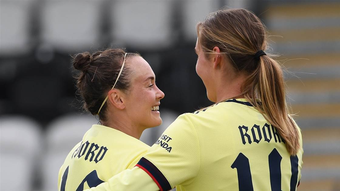 Matildas star in Champions League with eight Aussies in action
