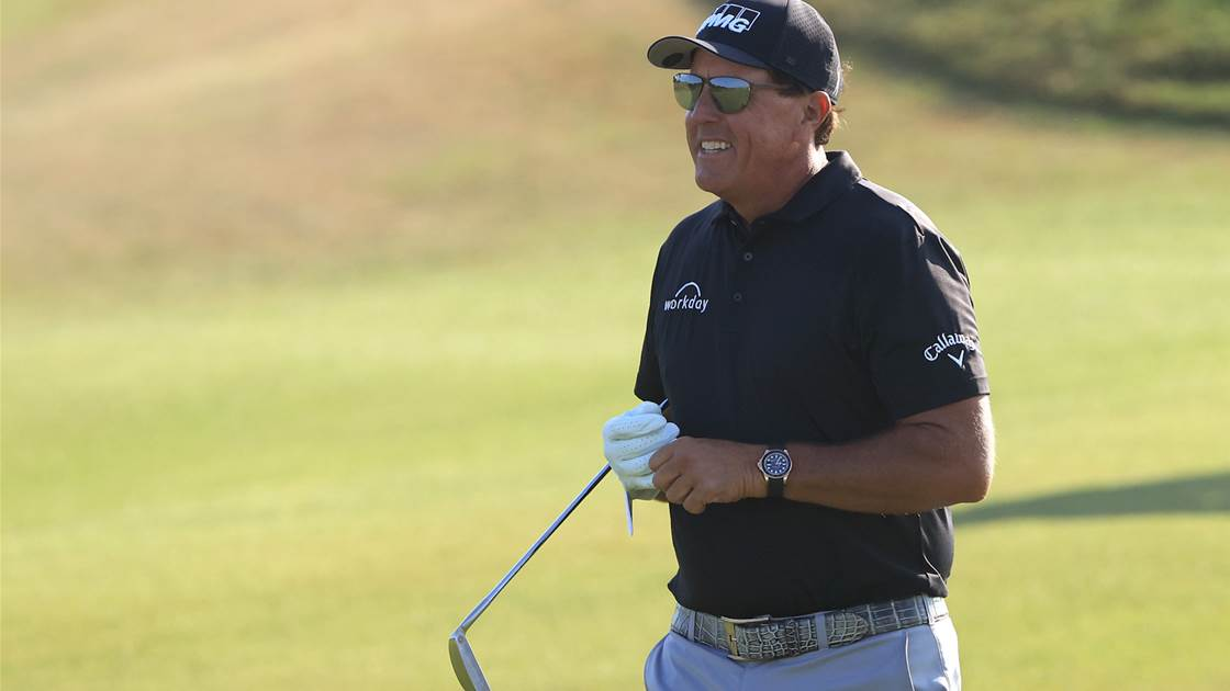 Chasing Lefty & Oosty … PGA field looks to the weekend