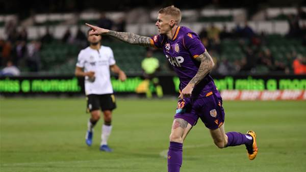 Perth A-League penalty 'ever so soft...the less said, the better'