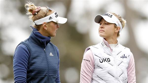 Nelly & Jessica Korda out to emulate dad