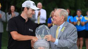 Cantlay claims drama-filled Memorial Tournament