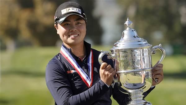 Teenager Saso wins U.S. Women's Open