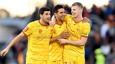 Adelaide star 'surprised a lot' by A-League: 'Here, they fight for the fans'