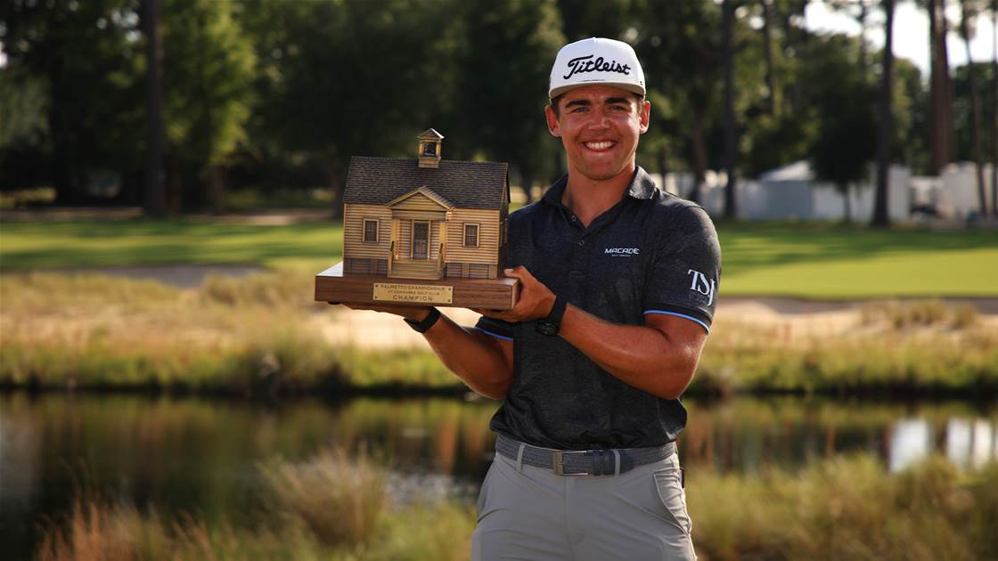 Star on the rise: Higgo triumphs on PGA Tour