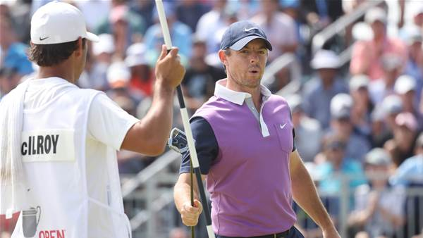 McIlroy surges into contention at US Open
