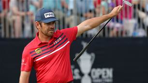 Oosthuizen in 3-way tie for US Open lead
