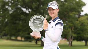 Nelly Korda seals 2nd LPGA Tour title this year