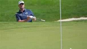 Leishman puts Travelers near miss in perspective
