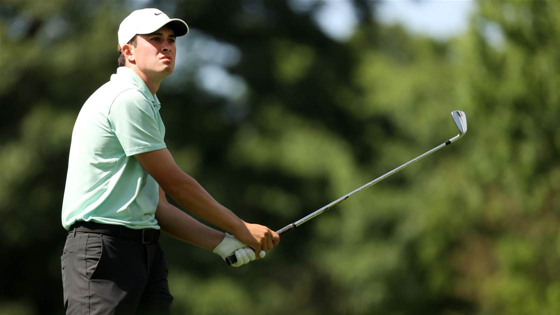 Thompson takes early lead at Rocket Mortgage Classic