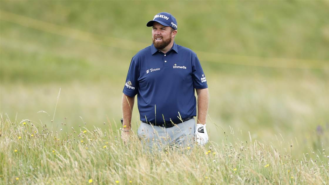 Lowry laments poor driving at The Open
