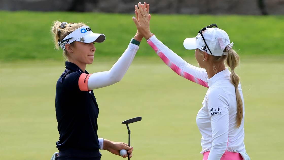 Korda sisters lead LPGA Tour's team event