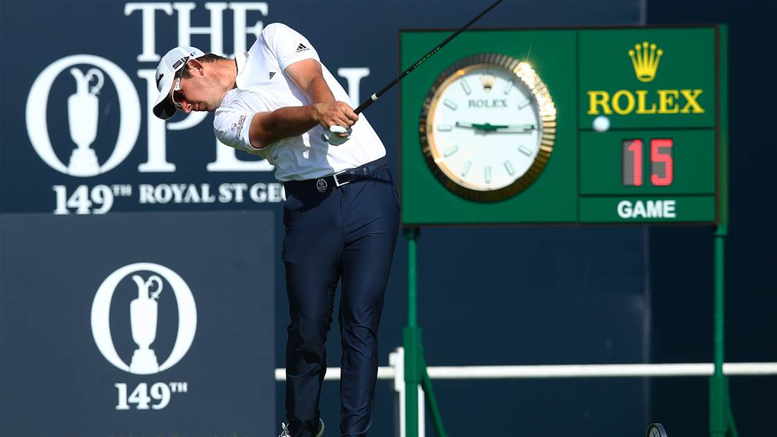 Traffic jam scares for Aussies at the Open
