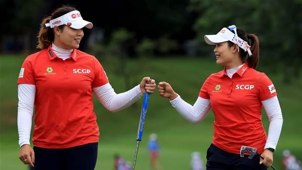 Jutanugarn sisters take LPGA Tour lead