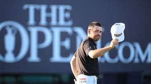 Oosthuizen in record-breaking mood at The Open