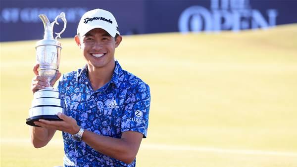 Morikawa wins the Open at Sandwich