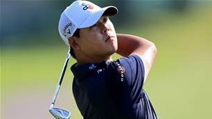 Kim implodes with 13 on par-3 at WGC