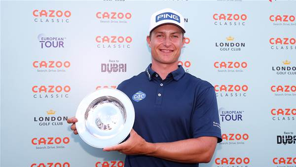 Hill holds on for maiden European Tour win