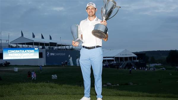 Cantlay putts his way to PGA Tour victory