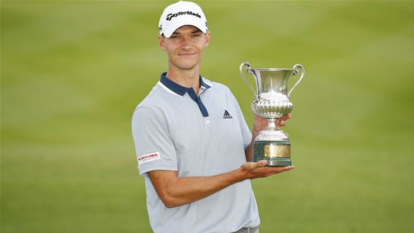 Hojgaard follows brother with European Tour win
