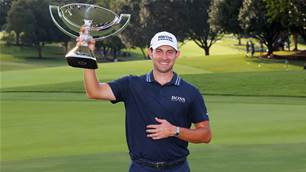Cantlay secures golf's richest pay day