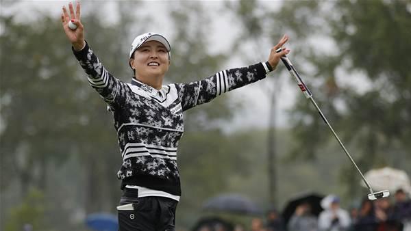 Jin Young Ko wins, ties Sorenstam record