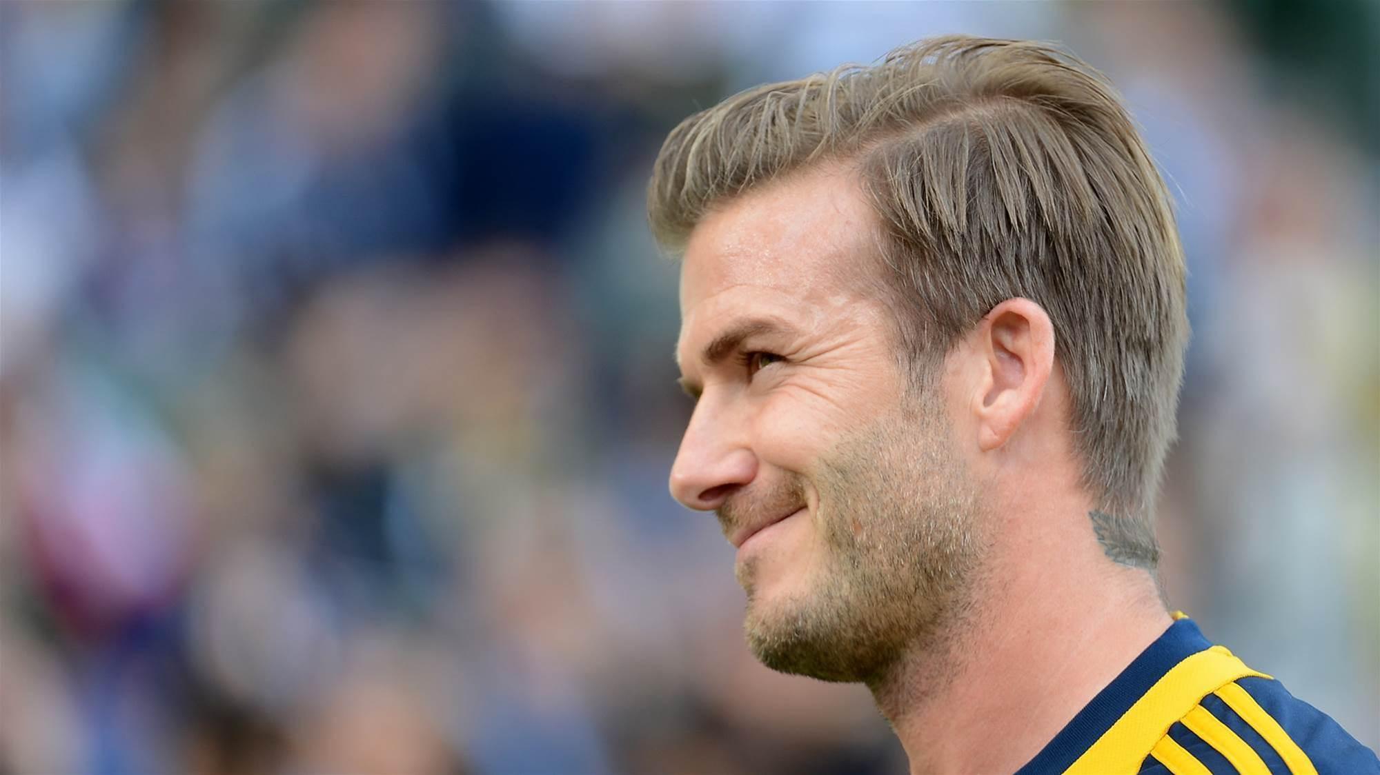 """Beckham's Sydney FC praise: """"Mate, that's world class"""""""