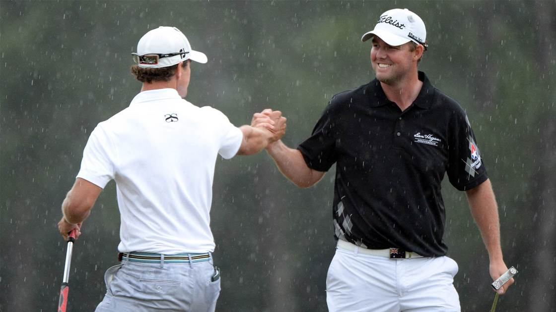 Leishman's picture-perfect Masters moment