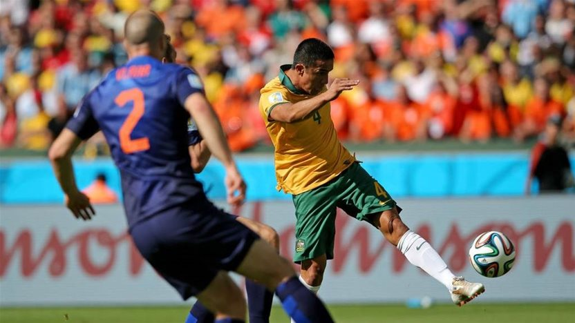 Cahill nominated for AFC's greatest World Cup player