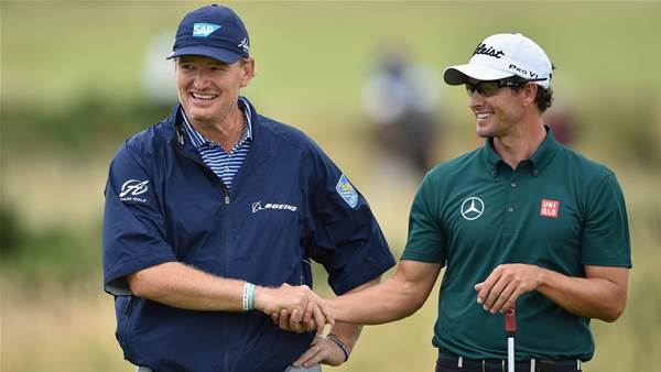 Els leans on Scott for Presidents Cup win