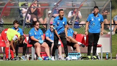 Aloisi stakes his claim to 'evolve' the women's game