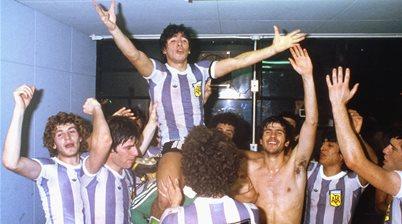 Death of a legend - silence for world's greatest, Maradona