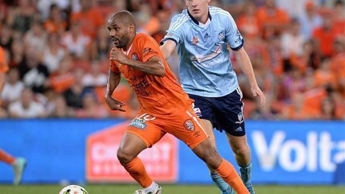 Brazilian striker to depart Roar, eyes coaching