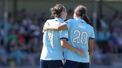 Matildas' childhood friends face off in titanic NWSL final