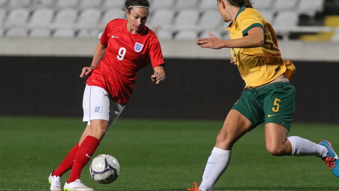 Matildas to face France and England