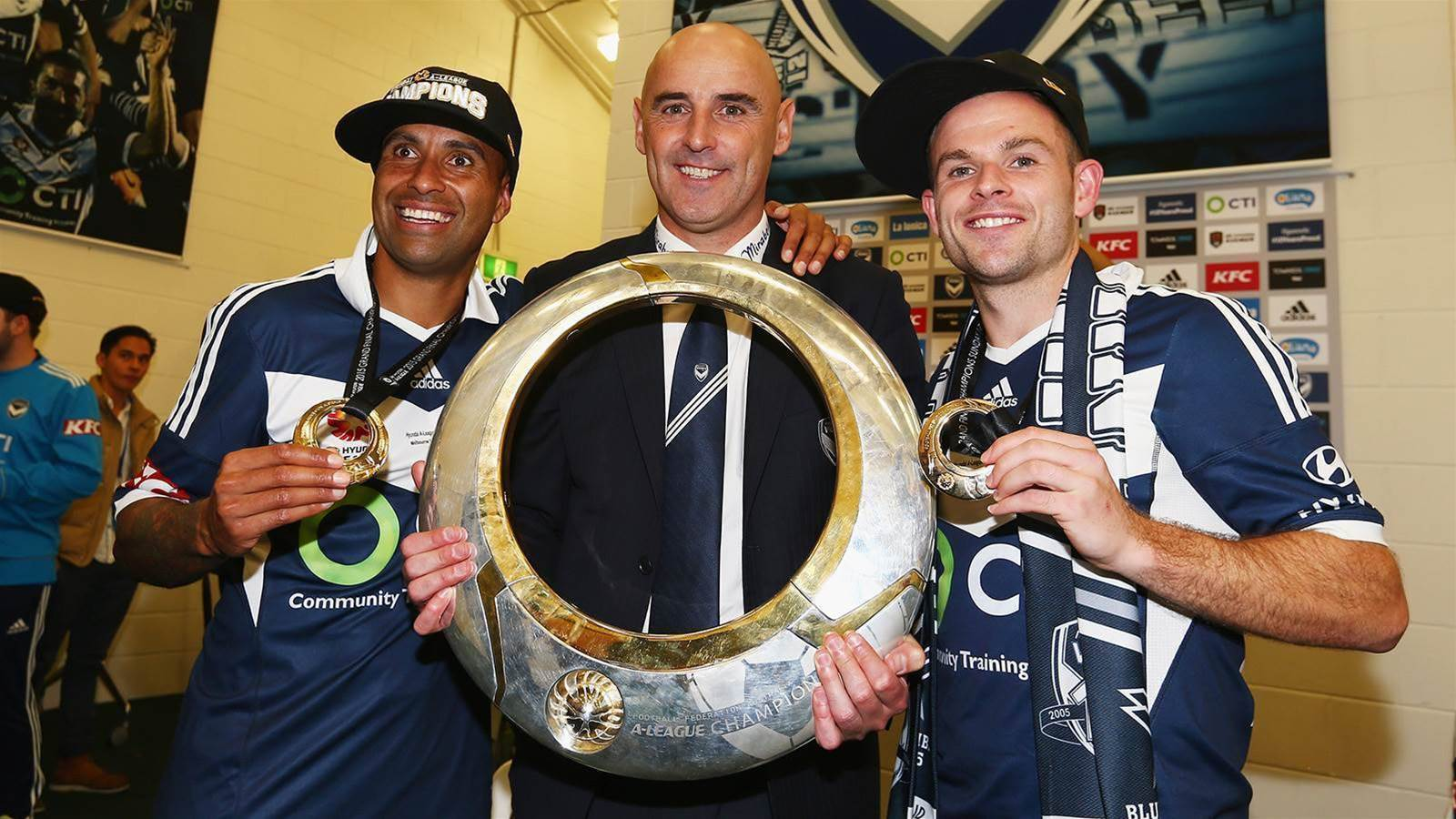 Broxham's tribute to departing Muscat