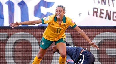 Matildas star Kyah Simon back for camp