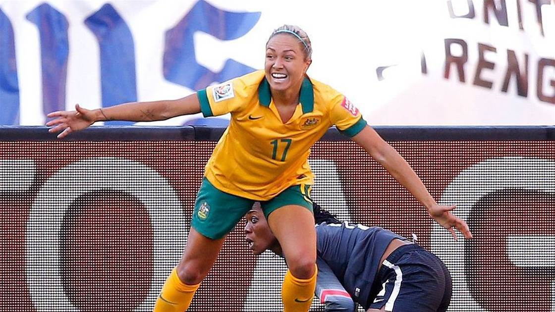 Matildas star Kyah Simon back for camp