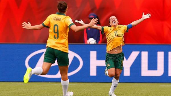 Our favourite Matildas moments: Lisa De Vanna
