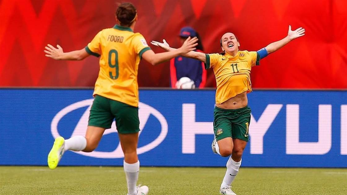 Our favourite Matildas moments: Lisa De Vanna