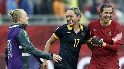 The incredible generosity of female football's bushfire fundraising