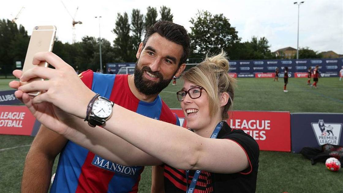 Crystal Palace's emotional Jedinak ceremony: 'He drove the team and probably drove me'