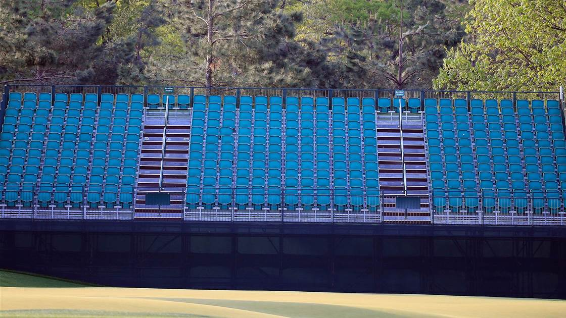Professional golf's return most likely to be without fans