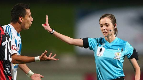 Australia's top female referee on 'forgotten' side of COVID's sport impact