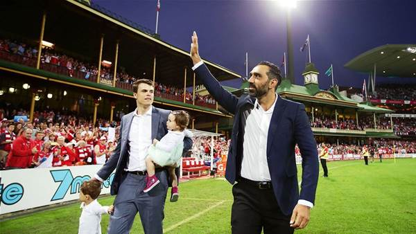 Adam Goodes opens up on AFL race row