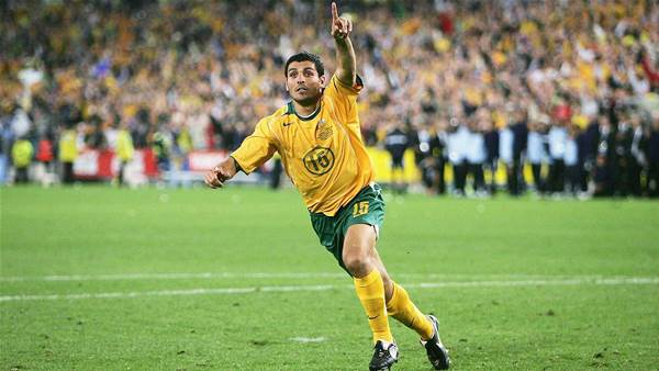 Aloisi's iconic moment born from anguish
