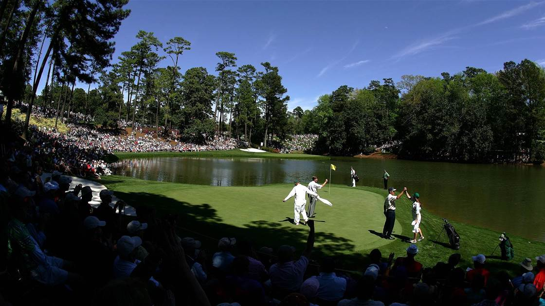 Par-3 Contest cancelled at Masters