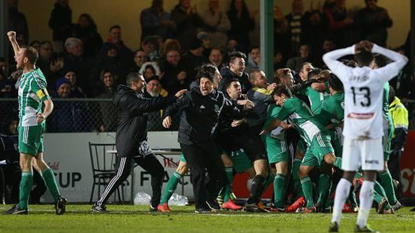NPL star on viral FFA Cup goal that stunned the world