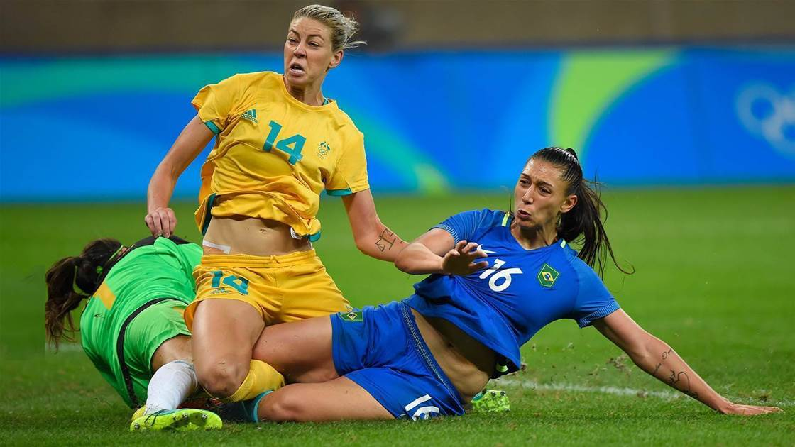 Matildas gunning for shot at Brazil